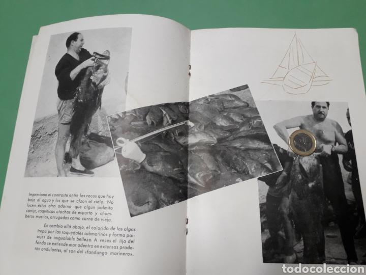 Coleccionismo: Libreto V campeonato inter-regional pesca submarina 1960 Costa del Sol. - Foto 4 - 167543508
