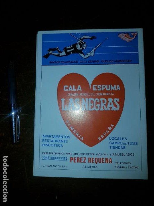 Coleccionismo: FEDAS. II Campeonato de España pesca submarina invierno. Almería 1975 - Foto 2 - 167793324