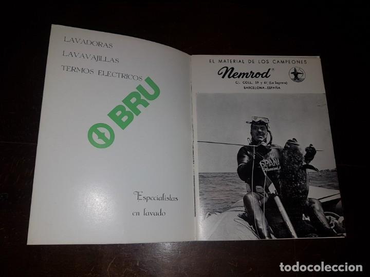 Coleccionismo: FEDAS. II Campeonato de España pesca submarina invierno. Almería 1975 - Foto 3 - 167793324