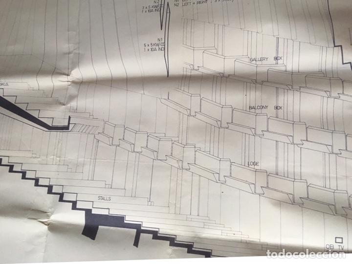 Coleccionismo: UNICO - PLANO SYDNEY OPERA HOUSE THEATRE - ARQUITECTURA - JØRN UTZON - 133x77cm - SIDNEY - Foto 6 - 167812213