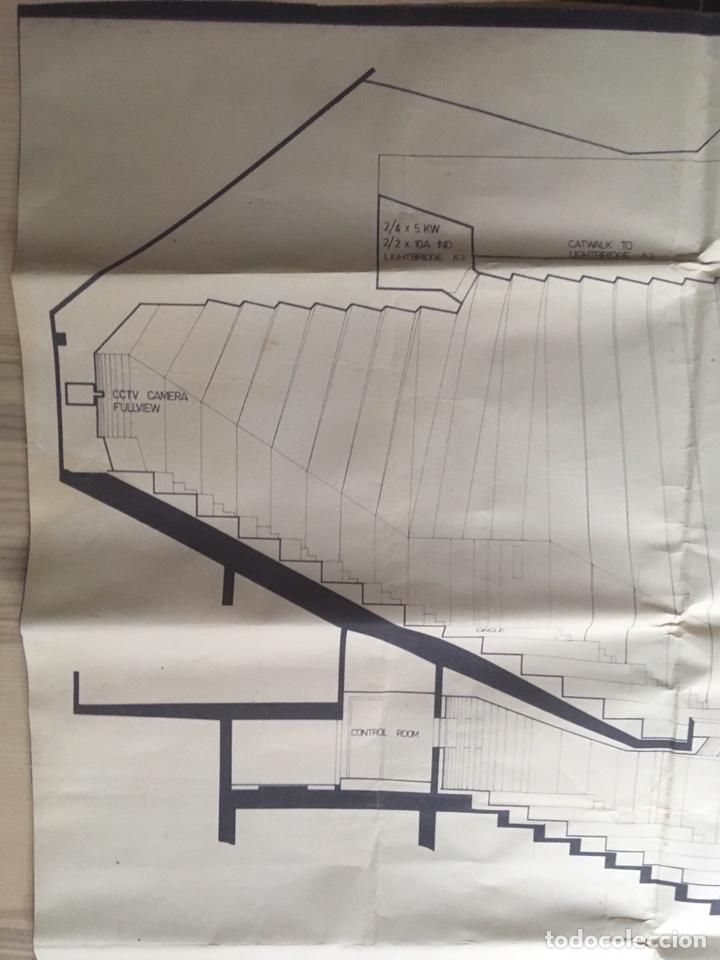 Coleccionismo: UNICO - PLANO SYDNEY OPERA HOUSE THEATRE - ARQUITECTURA - JØRN UTZON - 133x77cm - SIDNEY - Foto 10 - 167812213