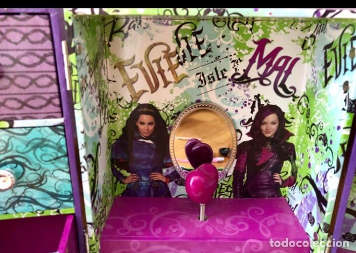 Coleccionismo: Joyero musical. Los descendientes. Disney Store. Joyero cuerda musical - Foto 5 - 167822020