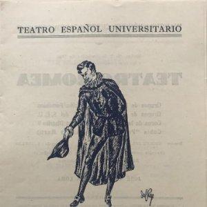 1948 Teatro Español Universitario. Vida del estudiante español 15,8x22,3cm