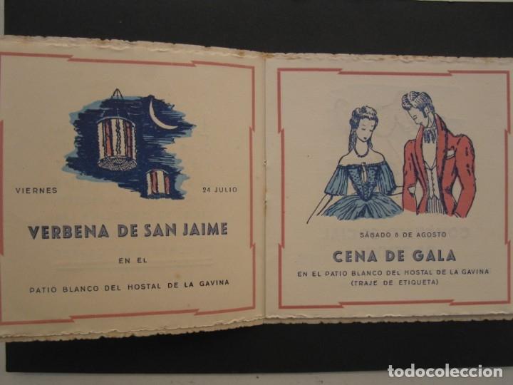 Coleccionismo: PROGRAMA DE LAS FIESTAS DEL CLUB DE TENNIS S'AGARÓ - AÑO 1942. - Foto 3 - 168050836