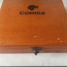 Coleccionismo: CAJA VACÍA PUROS COHIBA PANETELAS. Lote 168097560