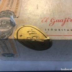 Coleccionismo: CAJA VACÍA PUROS EL GUAJIRO - 50 SEÑORITAS. Lote 168099208