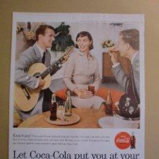 Coleccionismo: ANUNCIO COCA - COLA KEEP IT GAY - PORTADA LIFE 4 MARZO 1957. Lote 168311772