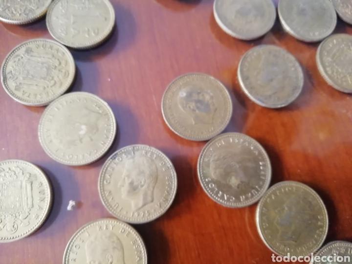 MONEDAS 1 PESETA. FRANCISCO FRANCO 1966. LOTE DE 6 MONEDAS COIN. (Coleccionismo - Varios)