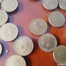 Coleccionismo: MONEDAS 1 PESETA. FRANCISCO FRANCO 1966. LOTE DE 6 MONEDAS COIN.. Lote 168317514