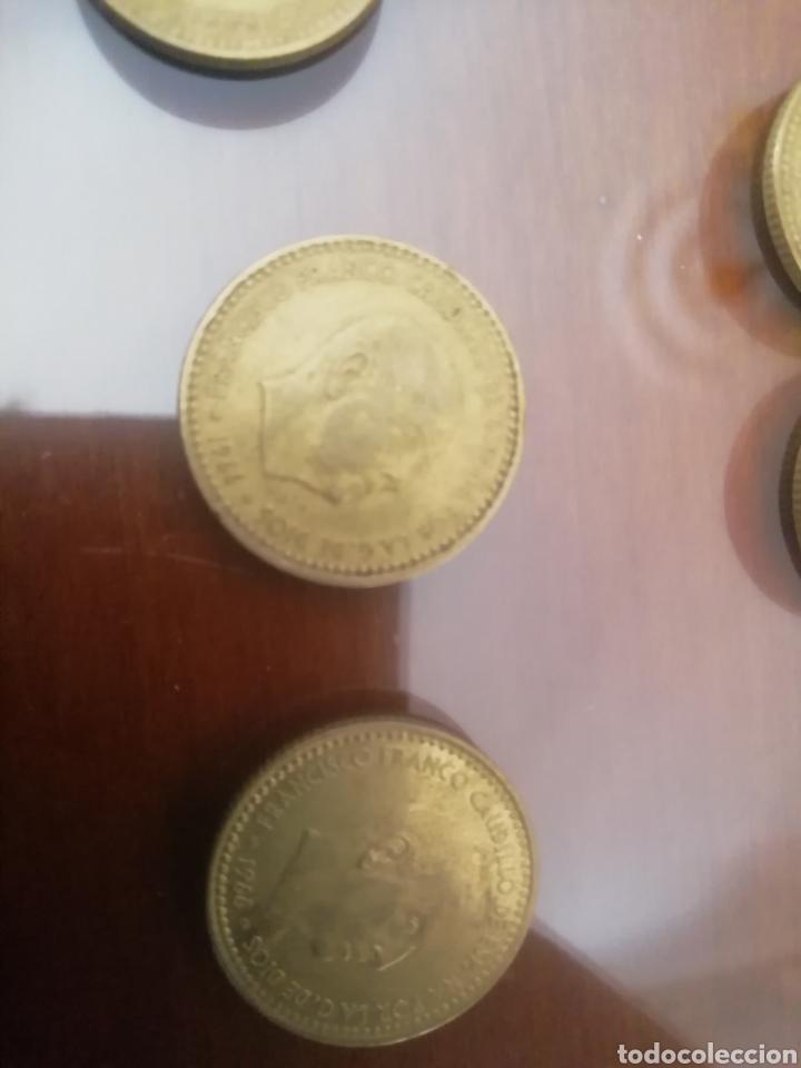 Coleccionismo: Monedas 1 peseta. Francisco Franco 1966. Lote de 6 monedas coin. - Foto 4 - 168317514