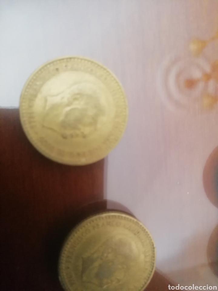 Coleccionismo: Monedas 1 peseta. Francisco Franco 1966. Lote de 6 monedas coin. - Foto 5 - 168317514