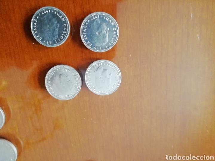 Coleccionismo: Monedas rey Juan Carlos I 1975. Lote 38 monedas años 80 - Foto 2 - 168340014