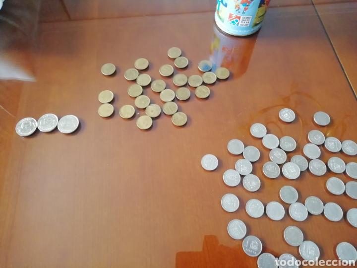 Coleccionismo: Monedas 1 peseta rey Juan Carlos año 1987. 13 monedas aluminio. - Foto 5 - 168347245