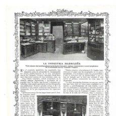 Coleccionismo: AÑO 1913 PUBLICIDAD REPORTAJE EMILIO GONZALEZ SUCESOR DE VENANCIO VAZQUEZ CHOCOLATES DULCES MADRID. Lote 168419064