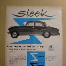 Coleccionismo: THE NEW AUSTIN A.55 - LIFE 13 MAYO 1957. Lote 168629976
