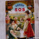 Coleccionismo: SAQUITO ANTIGUO ARROZ SOS. Lote 168746692