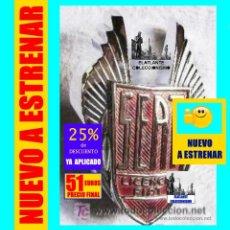 Coleccionismo: SEAT 1500 Y 850 - ESCUDO / ANAGRAMA / EMBLEMA FRONTAL CROMADO - ORIGINAL Y A ESTRENAR - 51 EUROS. Lote 168932080