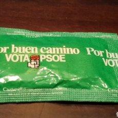 Coleccionismo: CARAMELOS PROPAGANDA POLITICA VOTA PSOE. Lote 169061130