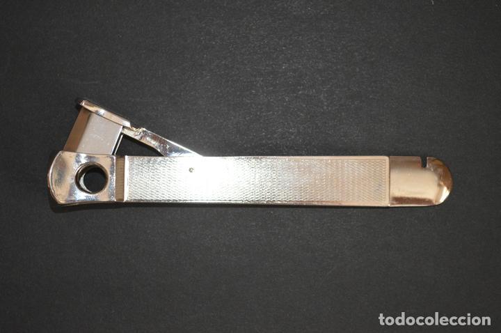 Coleccionismo: Cortapuros de mesa Solingen. Acero. Fabricado en Alemania. romanjuguetesymas. - Foto 2 - 169218908