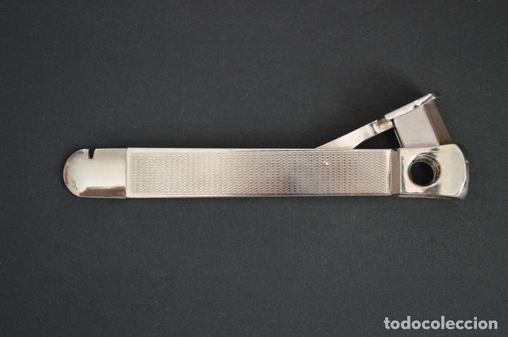 Coleccionismo: Cortapuros de mesa Solingen. Acero. Fabricado en Alemania. romanjuguetesymas. - Foto 3 - 169218908