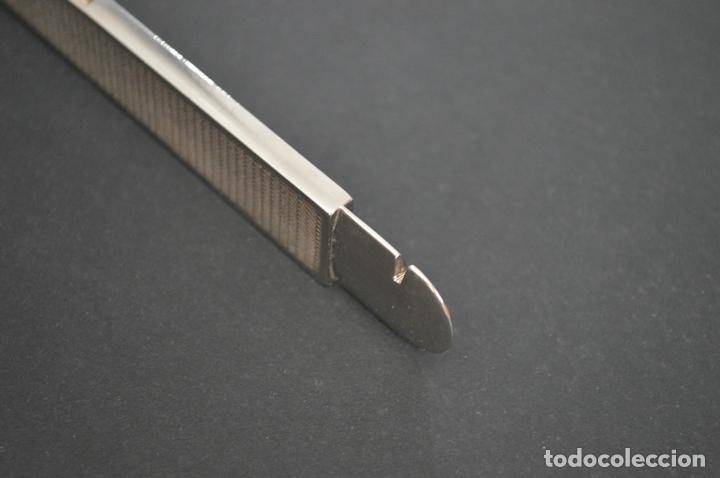 Coleccionismo: Cortapuros de mesa Solingen. Acero. Fabricado en Alemania. romanjuguetesymas. - Foto 9 - 169218908