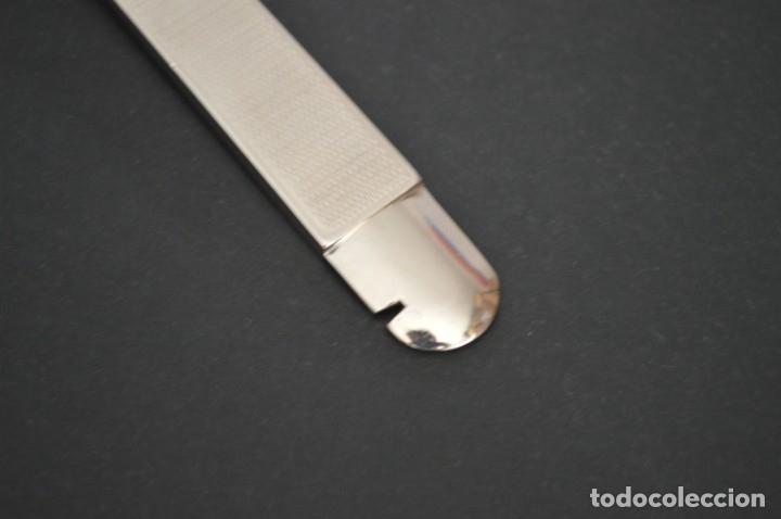 Coleccionismo: Cortapuros de mesa Solingen. Acero. Fabricado en Alemania. romanjuguetesymas. - Foto 10 - 169218908