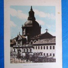 Coleccionismo: LÁMINA CON LA IMAGEN DE LA IGLESA DE LAS CALATRAVAS, MADRID. DE LAS MARAVILLAS DE ESPAÑA. 1910'S.. Lote 169575116