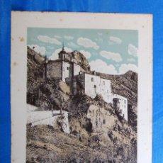 Coleccionismo: LÁMINA CON LA IMAGEN DE LA ERMITA DE SAN SATURIO, SORIA. DE LAS MARAVILLAS DE ESPAÑA. 1910'S.. Lote 169575968