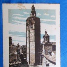 Coleccionismo: LÁMINA CON LA IMAGEN DE LA TORRE DEL MIGUELETE, VALENCIA. DE LAS MARAVILLAS DE ESPAÑA. 1910'2.. Lote 169576336