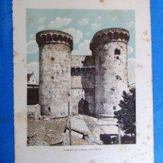 Coleccionismo: LÁMINA CON LA IMAGEN DE LAS TORRES DE CUARTE, VALENCIA. DE LAS MARAVILLAS DE ESPAÑA. 1910'2.. Lote 169576396