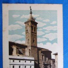 Coleccionismo: LÁMINA CON LA IMAGEN DE LA TORRE DE SAN MIGUEL, ZARAGOZA. DE LAS MARAVILLAS DE ESPAÑA. 1910'2.. Lote 169576800