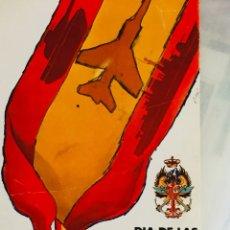 Coleccionismo: PROGRAMA ACTOS FUERZAS ARMADAS BARCELONA. Lote 169685445
