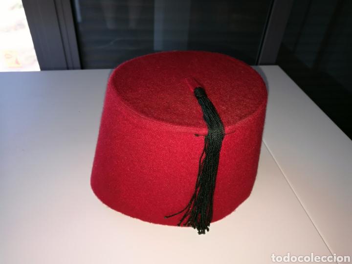 brillo de color predominante precios grandiosos Antiguo sombrero árabe marroquí. Ideal para atrezzo, disfraces o colección.  Marruecos