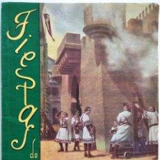Coleccionismo: ALCOY (ALICANTE) - PROGRAMA FIESTAS DE MOROS Y CRISTIANOS EN HONOR DE SAN JORGE MARTIR AÑO 1948. Lote 169749084