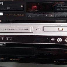 Coleccionismo: 2 VIDEOS VHS SARPH, SANYO Y 1 REPRODUCTOR DE CD SONY. Lote 169979804