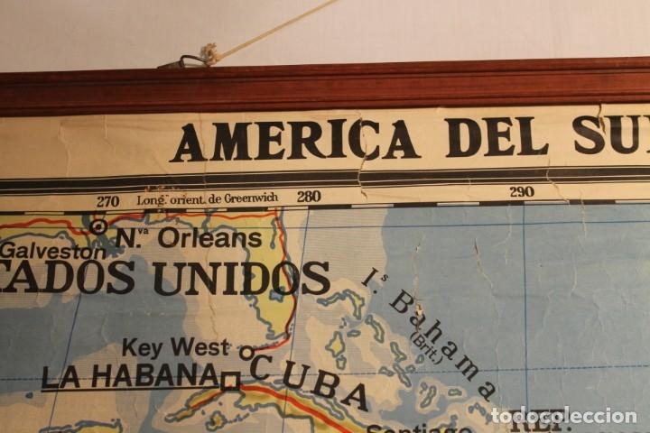 Coleccionismo: LITOGRAFÍA AMÉRICA DE SUR, LITOGRAFÍA, DE AGOSTINI 1937 - Foto 3 - 170085512
