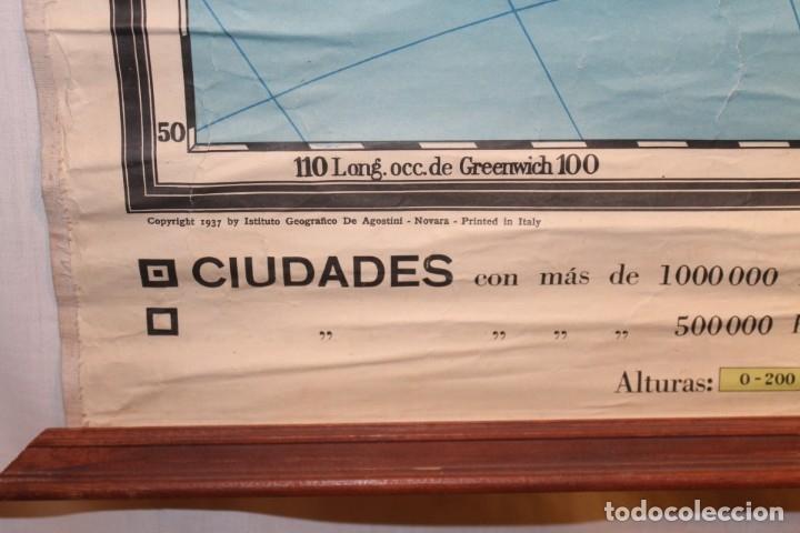 Coleccionismo: LITOGRAFÍA AMÉRICA DE SUR, LITOGRAFÍA, DE AGOSTINI 1937 - Foto 4 - 170085512