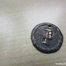 Coleccionismo: ANTIGUA PLACA DE ADORNO CON BUSTO DE MUJER. Lote 170288260