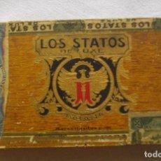 Coleccionismo: CAJA DE PUROS HABANOS - CUBA LOS STATOS DE LUXE CLAVELES ( PRE/ EMBRGO) VACIA - COLCCI. Lote 170412512