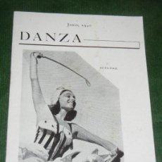 Coleccionismo: REVISTA DANZA NUM.2 JUNIO 1940 - PRO-ARTE MUSICAL HABANA CUBA. Lote 178973532