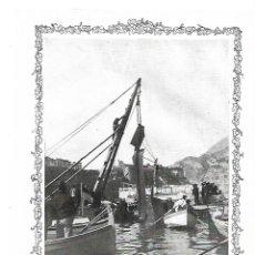 Coleccionismo: AÑO 1913 RECORTE PRENSA HIDROAVIACION MITIN DE AVIACION DE MONACO ACCIDENTE HIDROPLANO. Lote 170451572