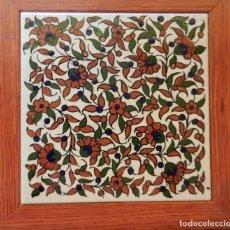 Coleccionismo: AZULEJO ENMARCADO. Lote 170488084