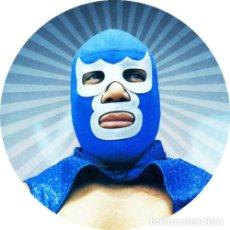 Collezionismo: IMAN/MAGNET BLUE DEMON . LUCHA LIBRE WRESTLING SANTO MEXICO ENMASCARADO. Lote 170556444
