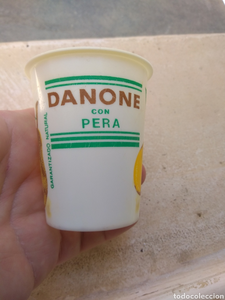 Coleccionismo: Antiguo Vaso de Danone con Pera - Foto 2 - 170861229