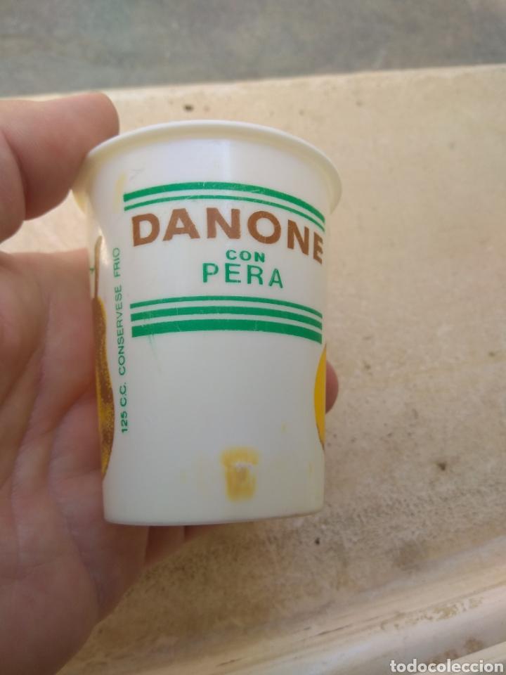 Coleccionismo: Antiguo Vaso de Danone con Pera - Foto 3 - 170861229