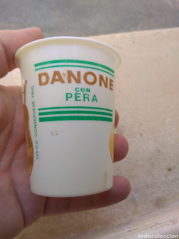 Coleccionismo: Antiguo Vaso de Danone con Pera - Foto 4 - 170861374