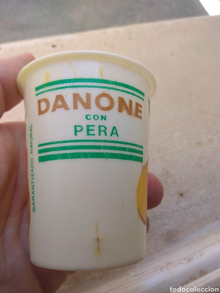 Coleccionismo: Antiguo Vaso de Danone con Pera - Foto 3 - 170861703