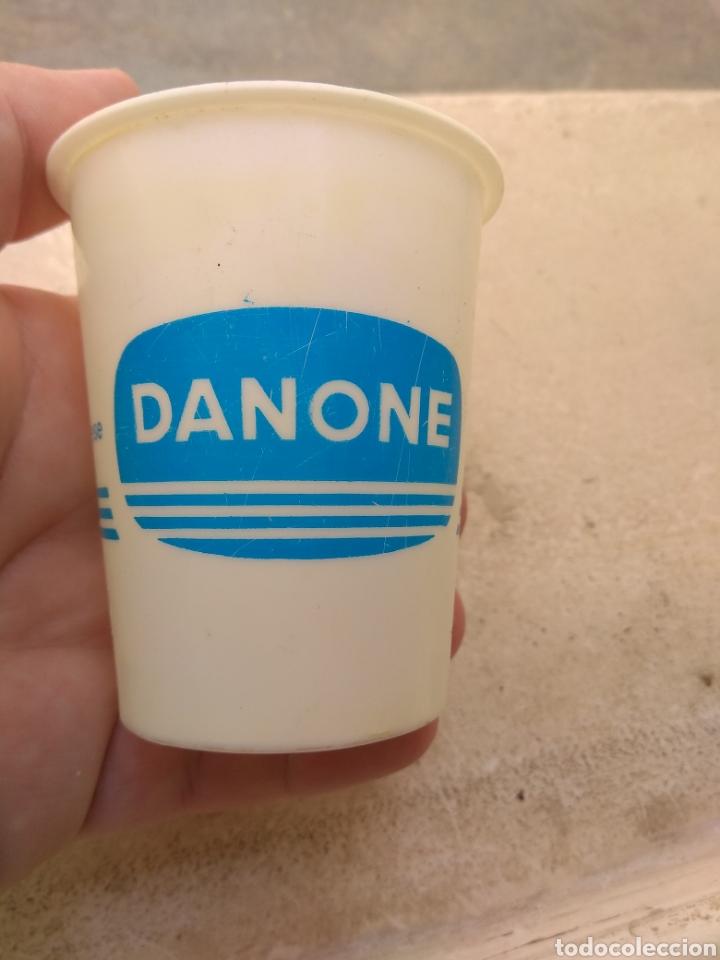 Coleccionismo: Antiguo Vaso de Danone Natural - Modelo Raro - - Foto 3 - 170863398