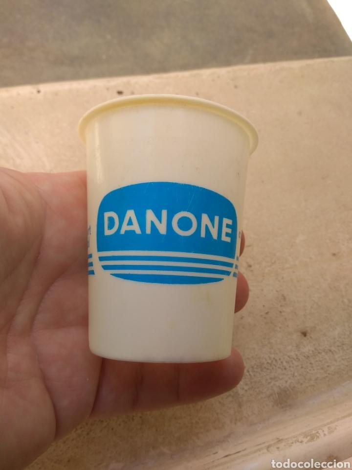 Coleccionismo: Antiguo Vaso de Danone Natural - Modelo Raro - - Foto 3 - 170863508