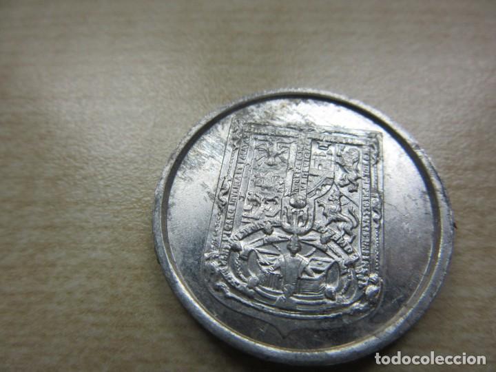 Coleccionismo: Dos fichas de Francisco Pizarro y Ponce de León - Foto 5 - 170900790